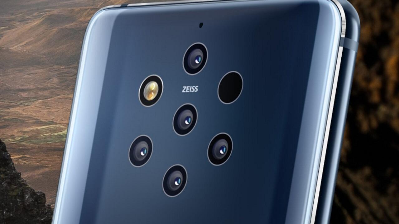 5カメラ搭載「Nokia 9 PureView」がスペインAmazonで安価に