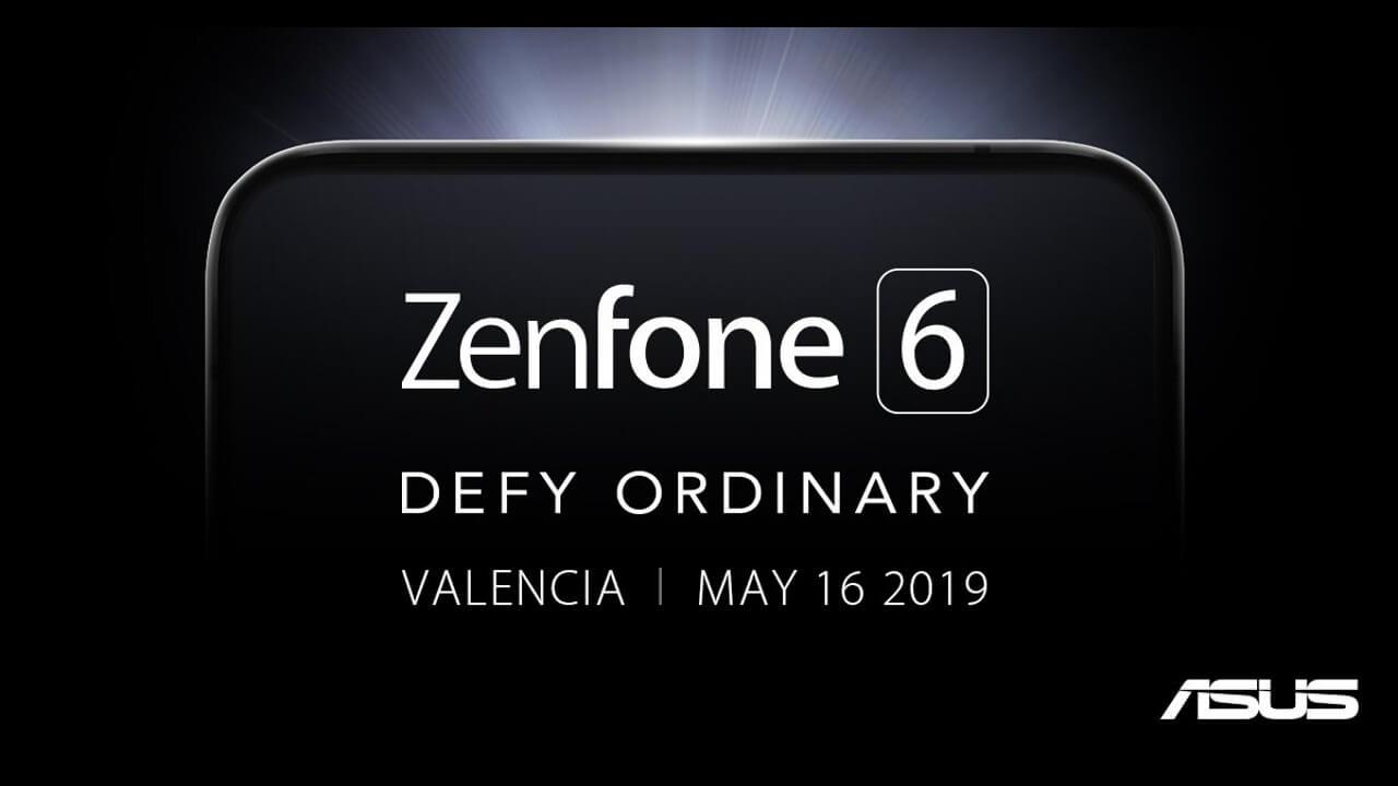 ASUSが「ZenFone 6」発表に向けたティザーを開始、5月16日に発表へ