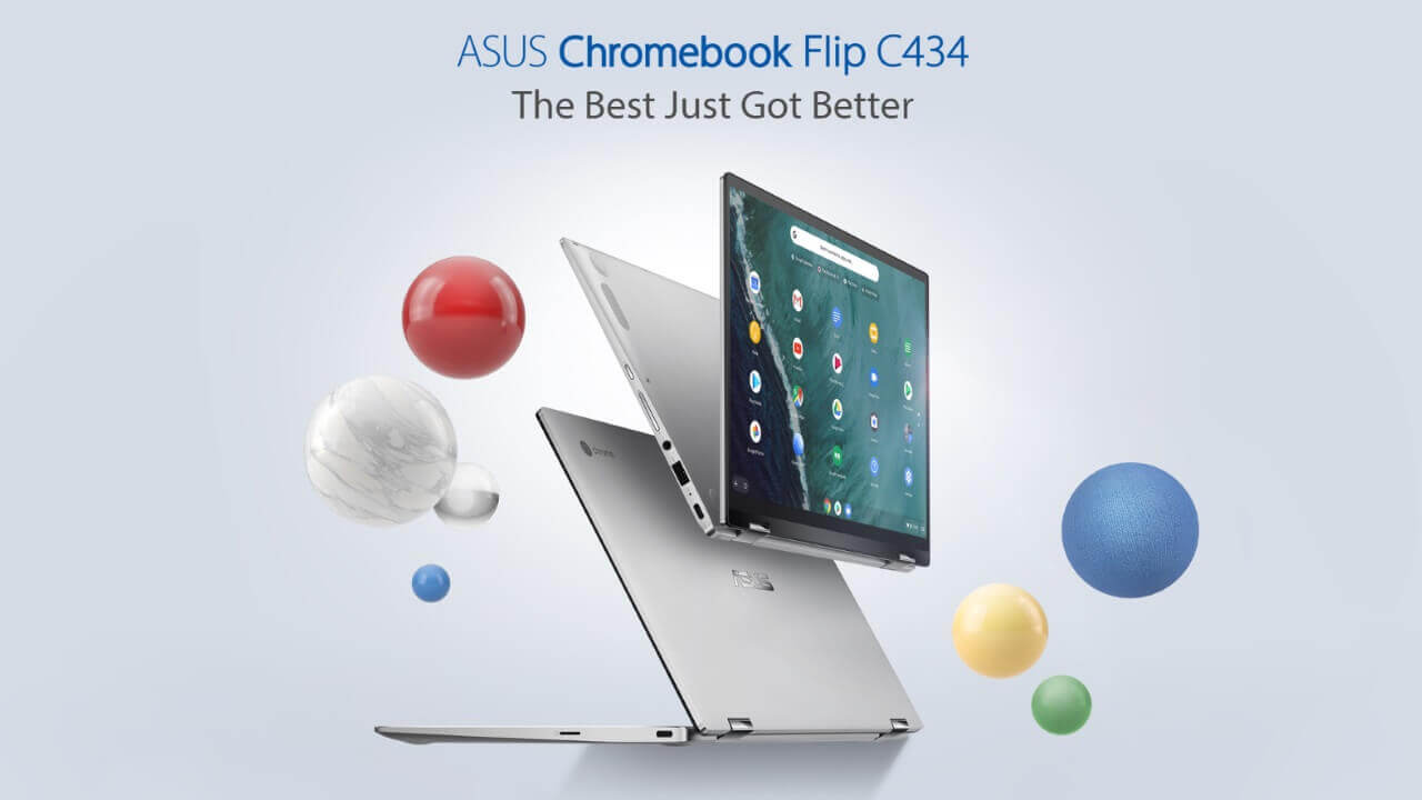 8GB RAM版「Chromebook Flip C434」が米Amazonに入荷