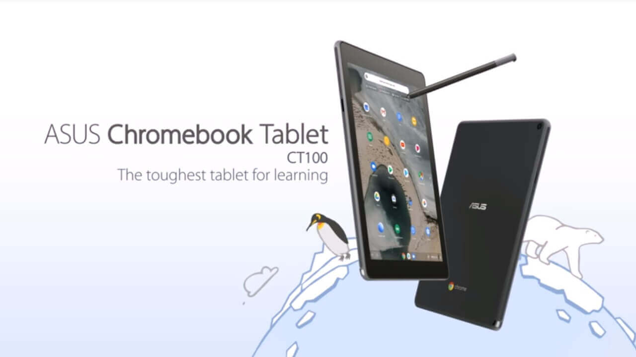 「ASUS Chromebook Tablet C100」プロモ動画公開、いよいよ発売?
