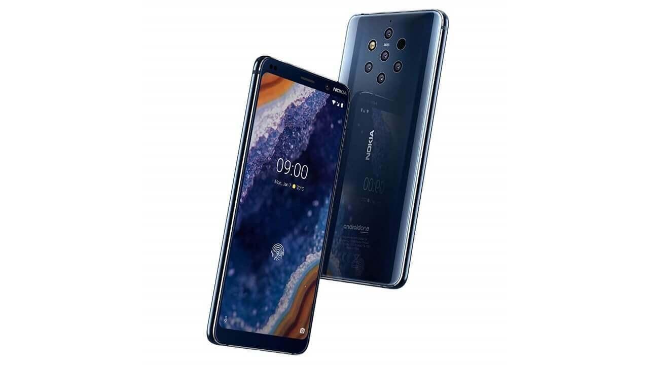 英Amazonで「Nokia 9 PureView」予約受付中、3月21日入荷予定
