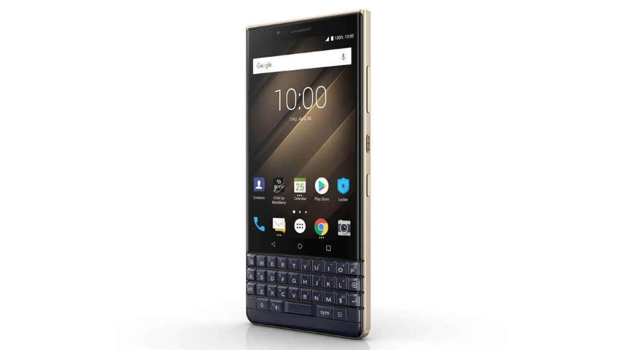 国内版「BlackBerry KEY2 LE」がAmazonで10,000円引き!