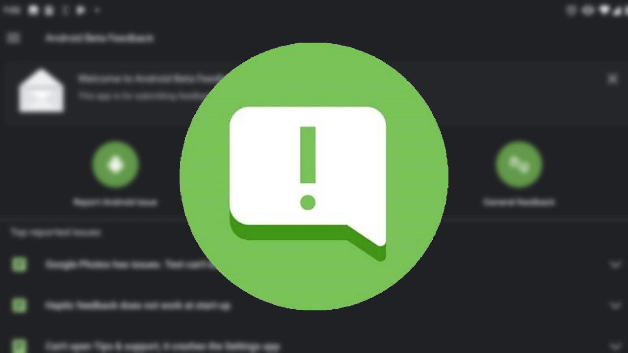 「Android Beta Feedback」がダークテーマをサポート