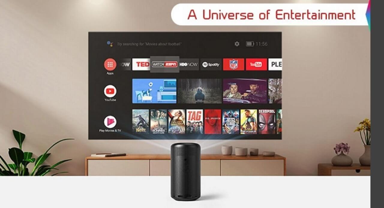 Android TVプロジェクター「Anker Nebula Capsule II」20%引き【Amazonタイムセール祭り】