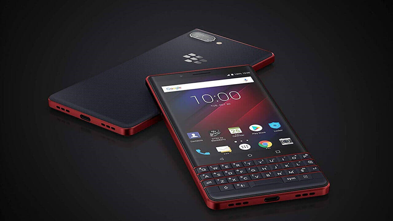 伊Amazonで「BlackBerry KEY2 Red Edition」発売、日本直送未対応