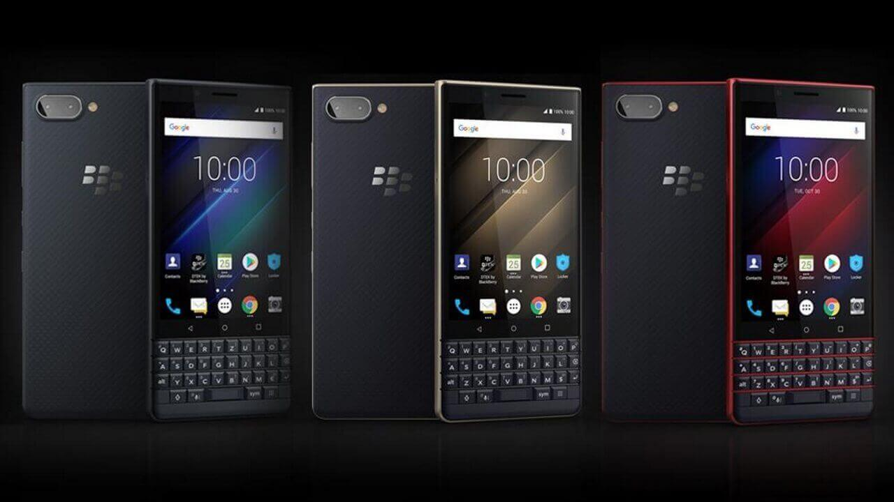 国内版「BlackBerry KEY2 LE」予約開始