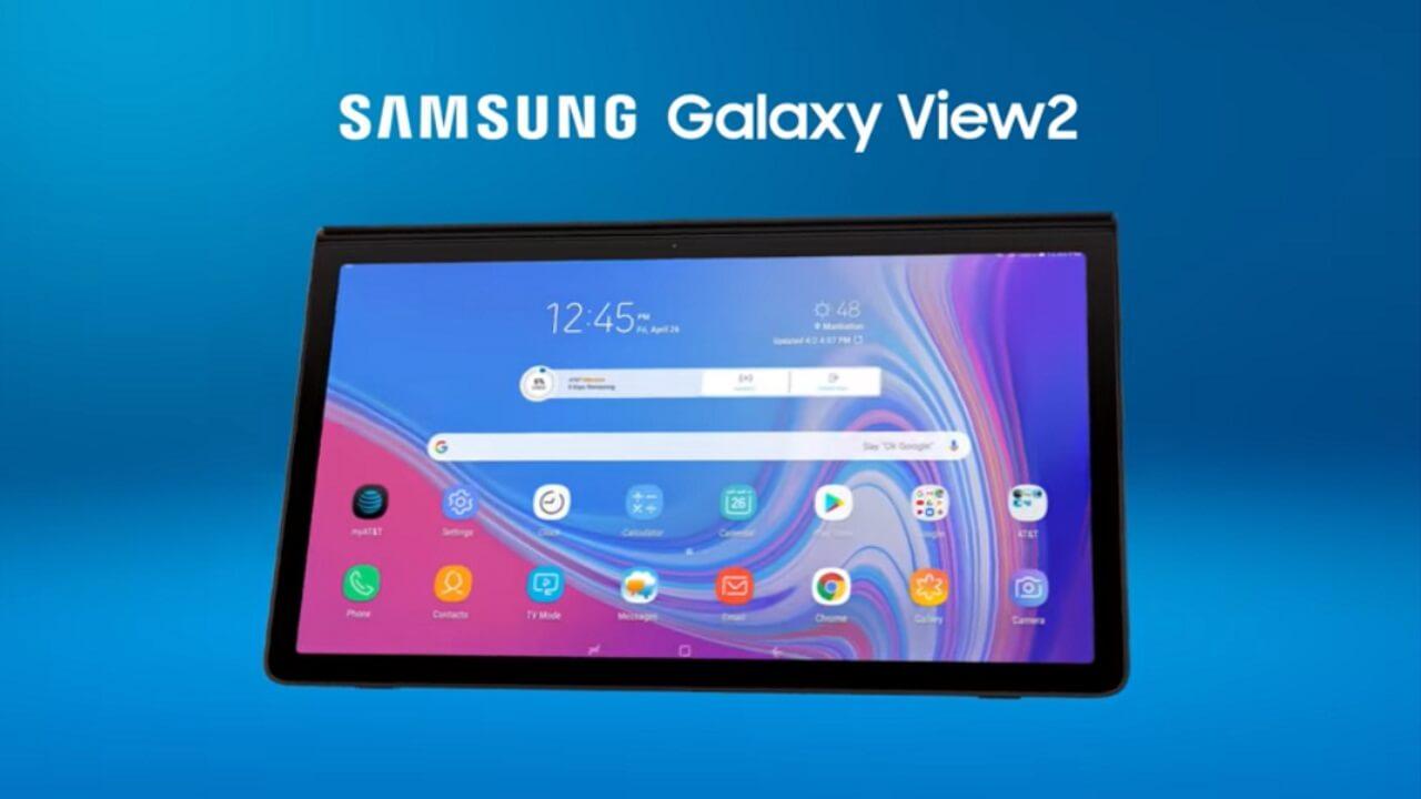 17.3インチ大型Android「Galaxy View2」発表