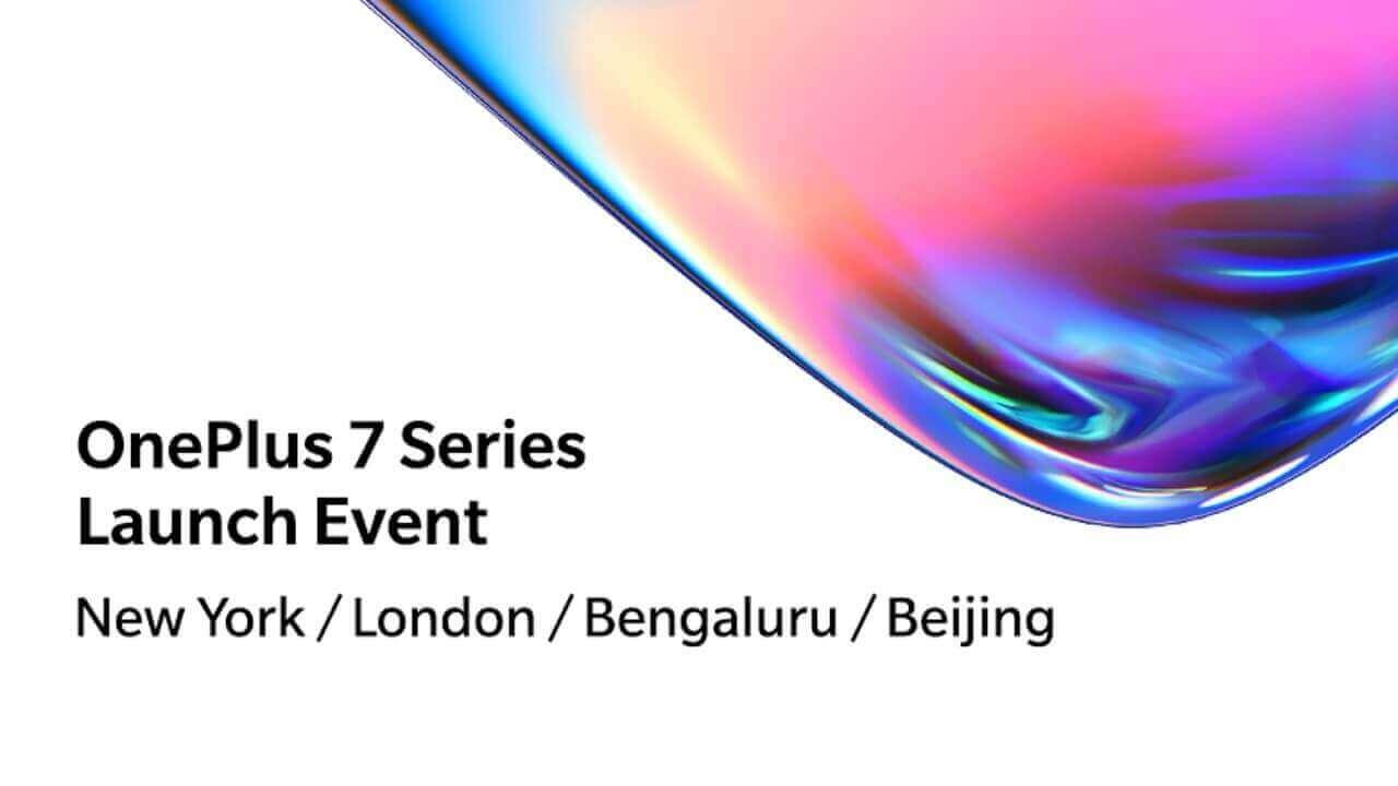 新フラッグシップ「OnePlus 7」シリーズ、5月14日に発表へ