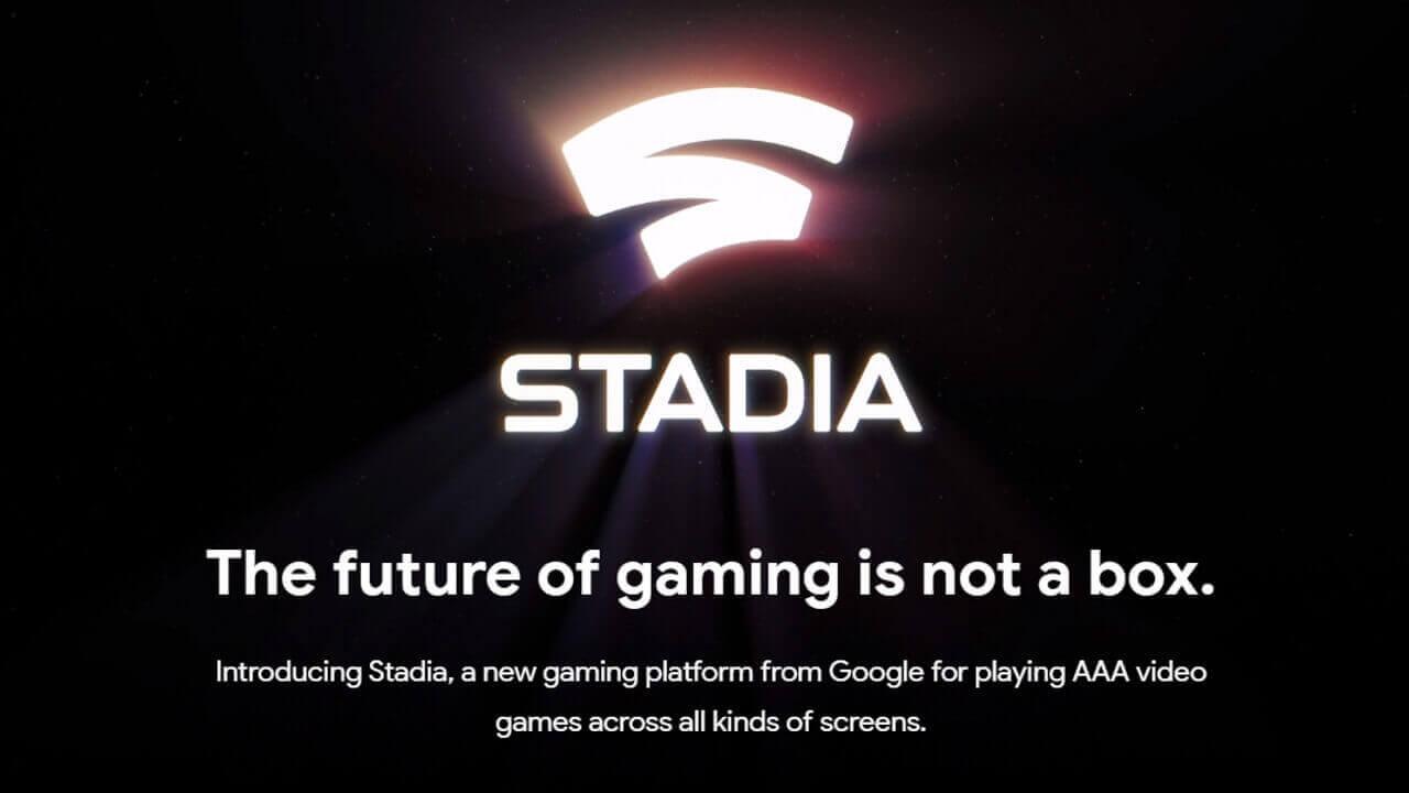 米Googleストアにゲームプラットフォーム「Stadia」のサインアップページが登場
