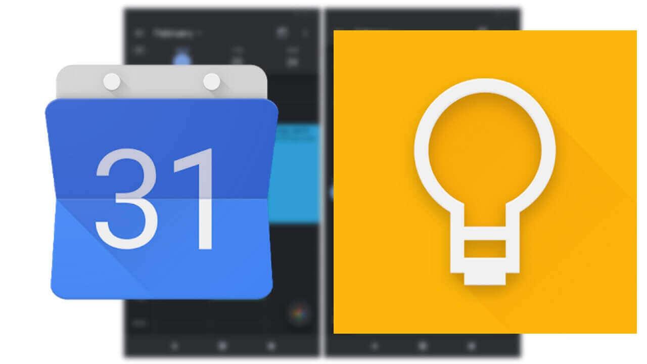 Android「Google カレンダー/Keep」がダークモードを公式サポート