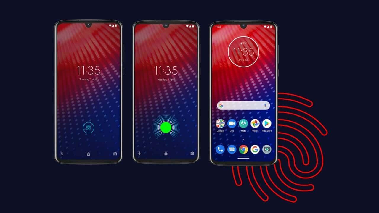 Motorola、指紋センサー内蔵ディスプレイ採用「Moto Z4」正式発表