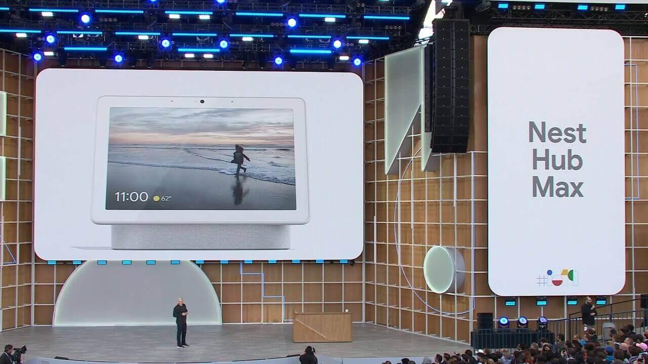 10インチディスプレイとカメラ搭載「Google Nest Hub Max」発表