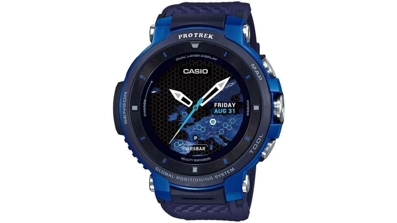 Wear OS「PRO TREK Smart WSD-F30」ブルーが42%引きの超特価!