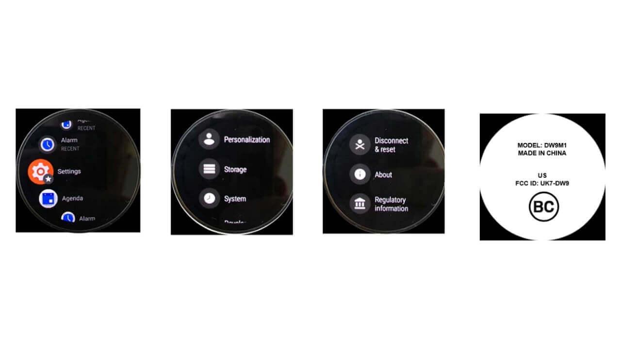 Fossil新世代Wear OS?「DW9M1」がFCC認証取得、技適も取得済