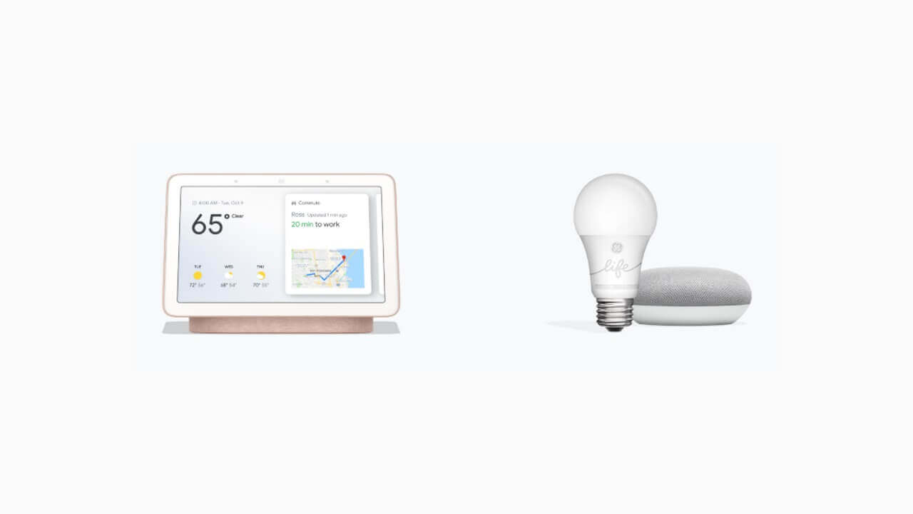「Google Nest Hub」+「Smart Light Starter Kit」が米Googleストアで激安販売中