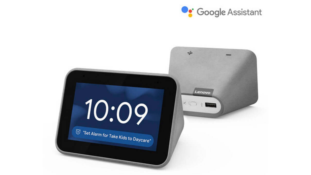B&Hに「Lenovo Smart Clock」が入荷、直輸入可能に