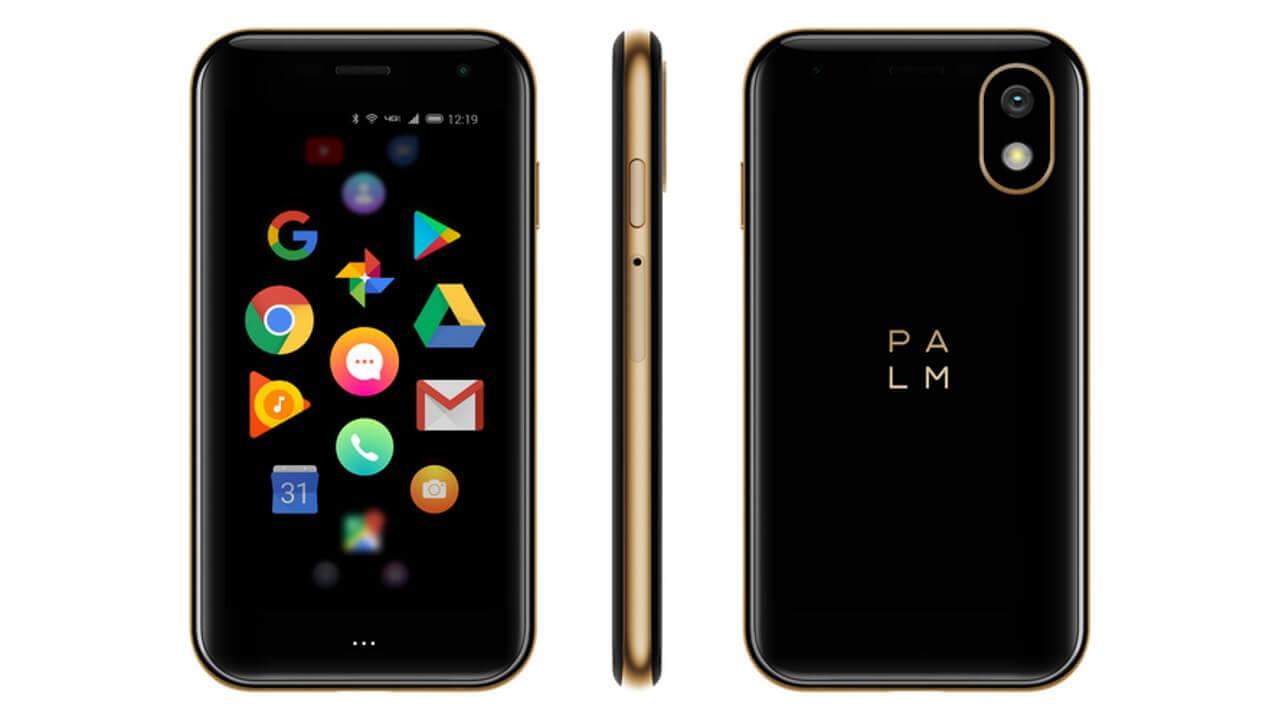米国でSIMフリー「Palm Phone」予約開始、ゴールドカラーもあり