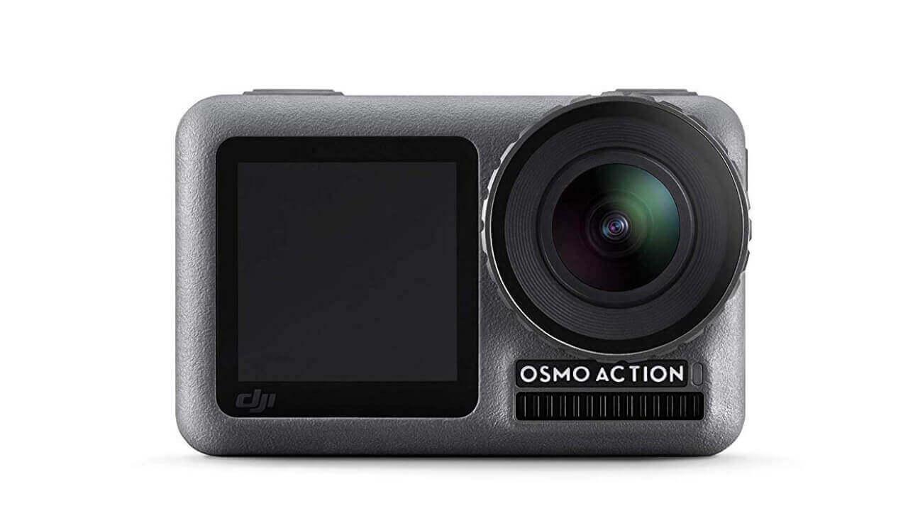 Amazonで「DJI Osmo Action」が実質40,000円に
