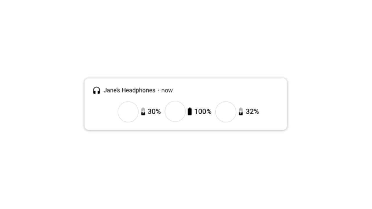 AndroidのBluetooth簡易接続「Fast Pair」がバッテリーケースの残量表示もサポートへ