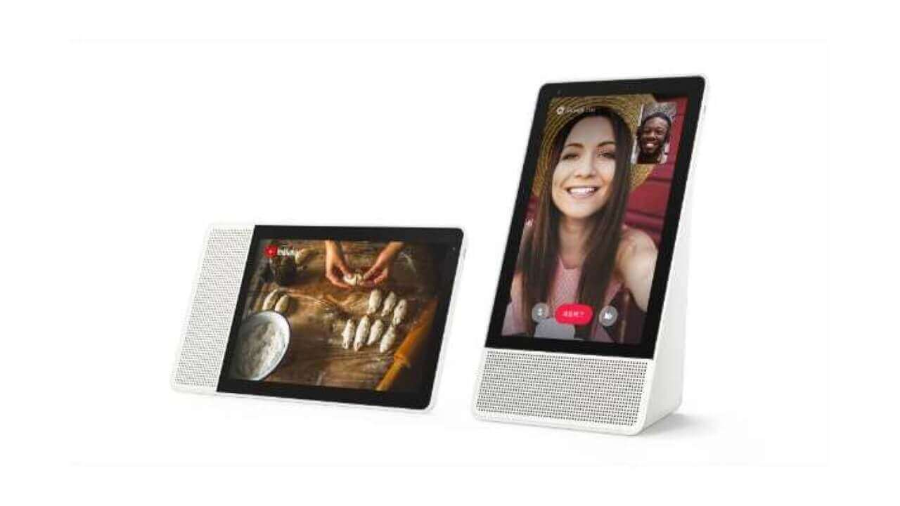 Lenovo「Smart Display M10」「Smart Clock」予約開始