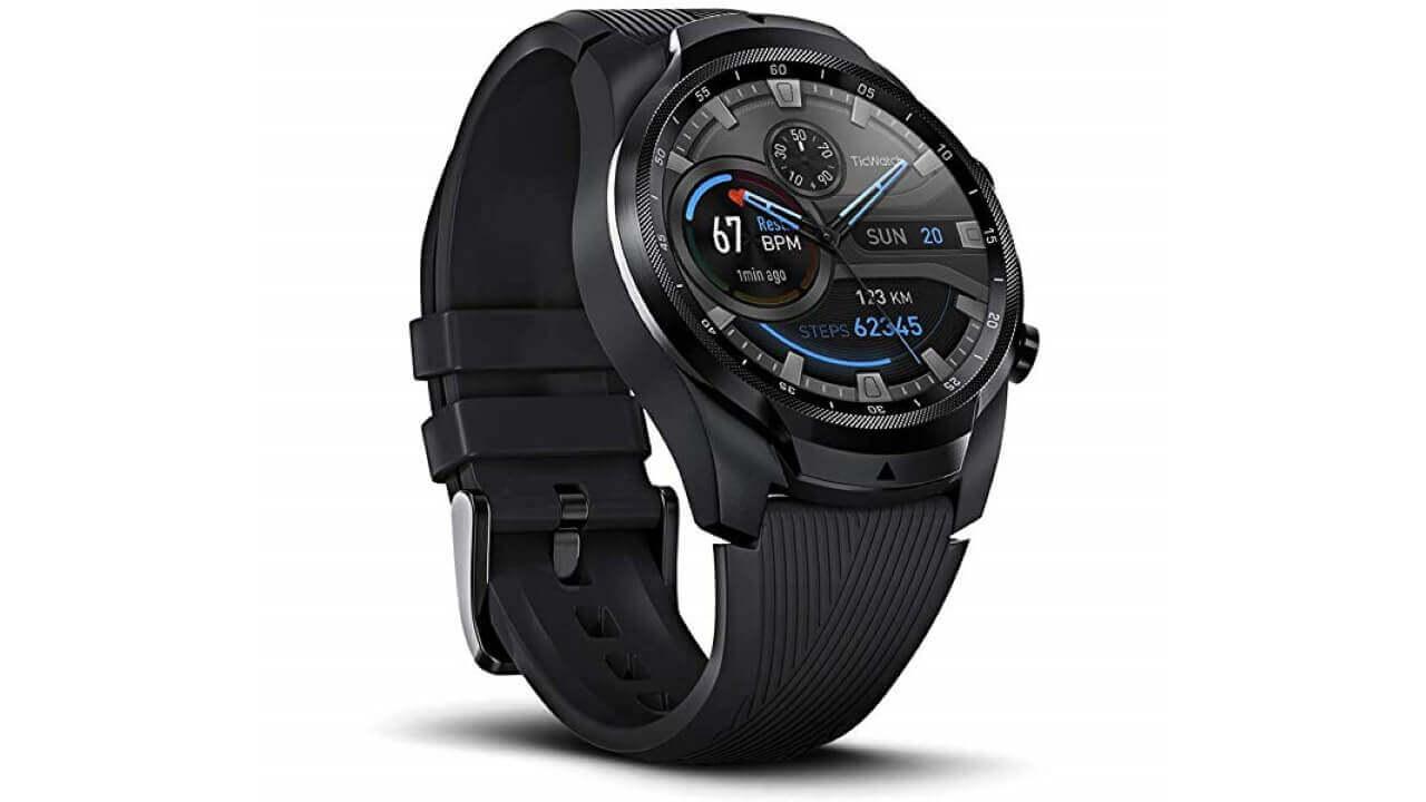 「Ticwatch Pro 4G/LTE」が欧州で発売されてた