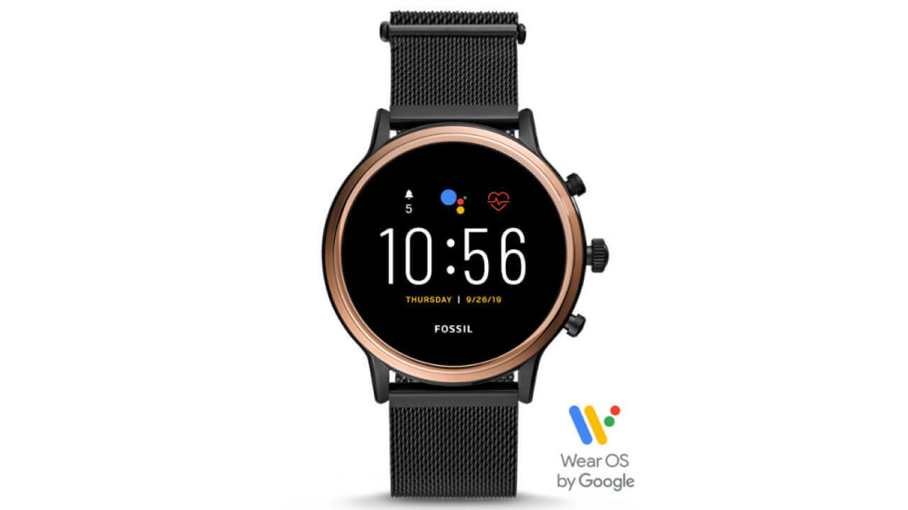 第5世代Wear OS「Fossil The Carlyle/Julianna HR」Amazonで発売