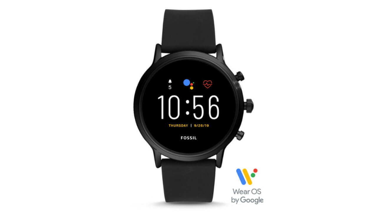 米Amazonで第5世代Wear OS「Fossil The Carlyle」が$59引き