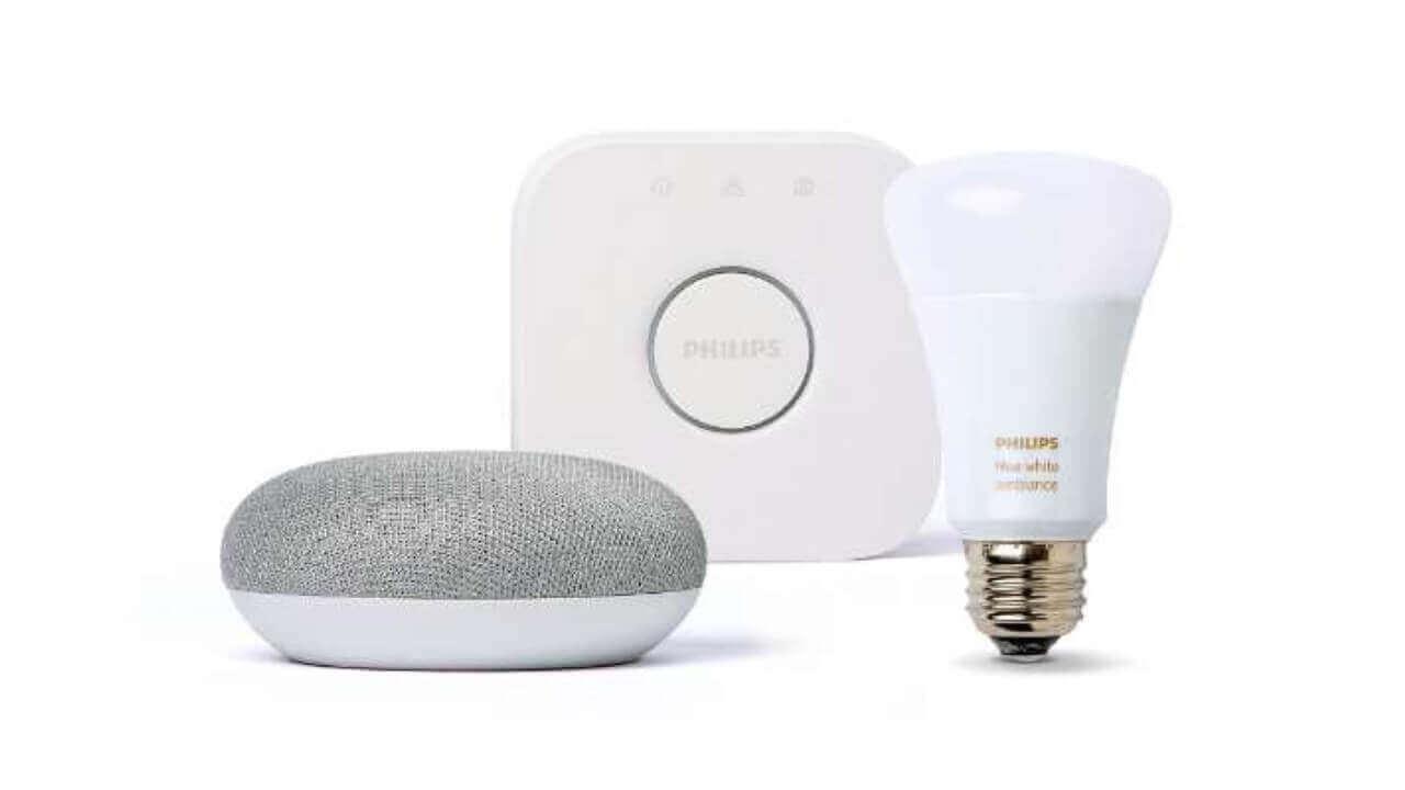 「Google Home Mini」+「Philips Hue」バンドルパッケージがビックカメラ決算特価に