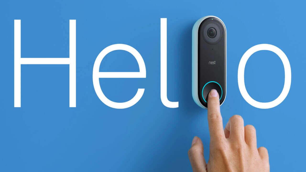 スマートチャイム「Nest Hello」が配達荷物の検出をサポート