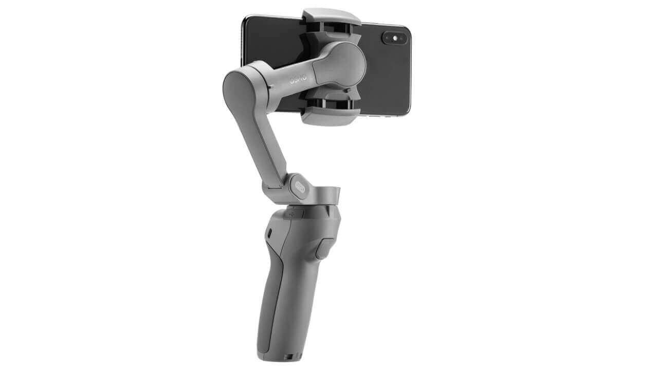 DJI、13,500円の折り畳み式スマートフォンジンバル「Osmo Mobile 3」発表