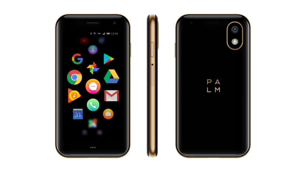 米国でSIMフリー「Palm Phone」発売