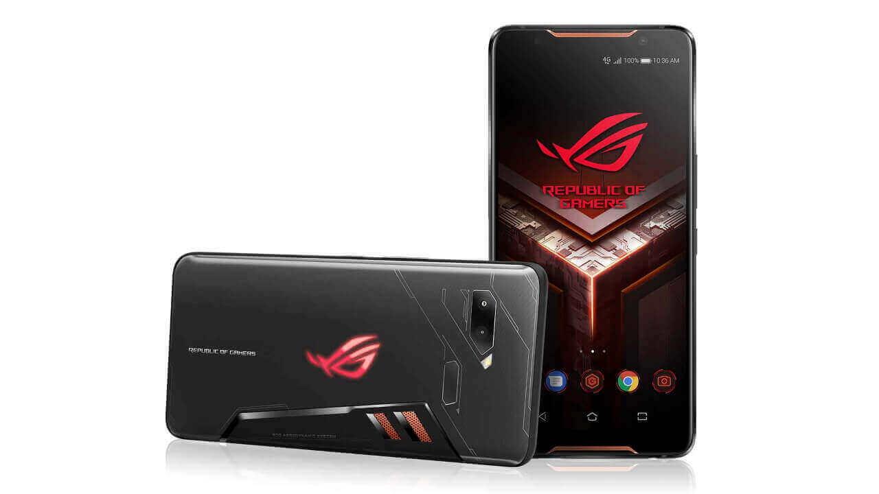 ASUS、「ROG Phone」を再度20,000円値下げ