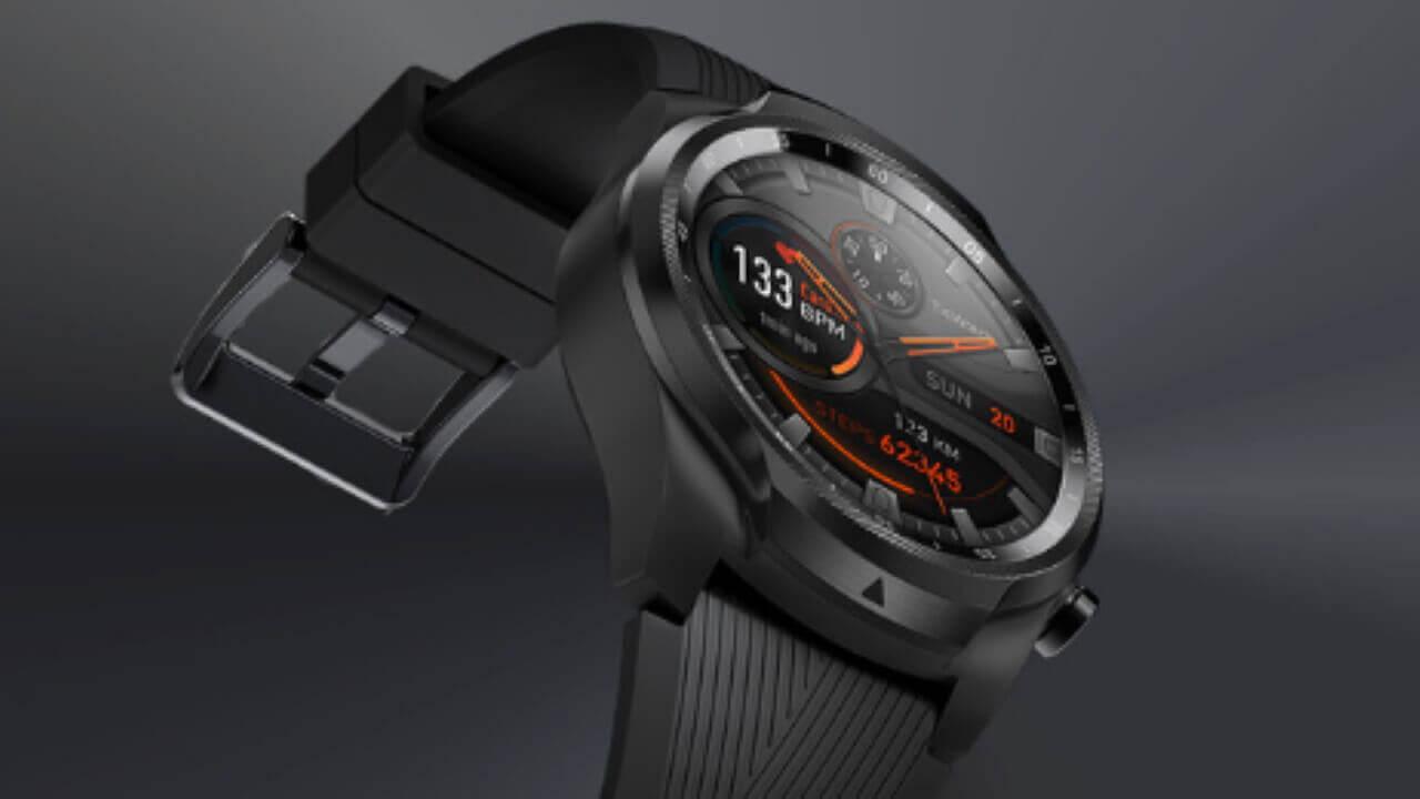 「Ticwatch Pro 4G/LTE」が英Amazonで£50引き