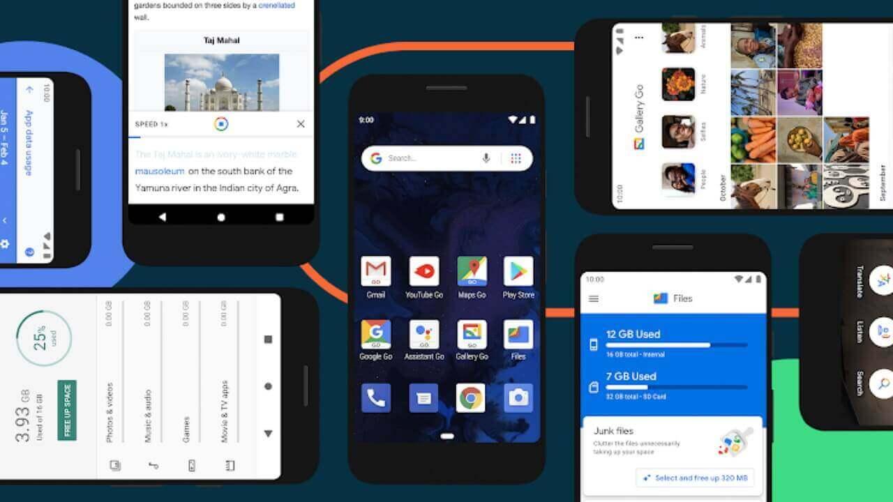 さらに速度向上「Android 10(Go Edition)」発表