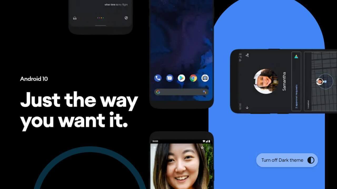 「Android 10」公式ページが公開