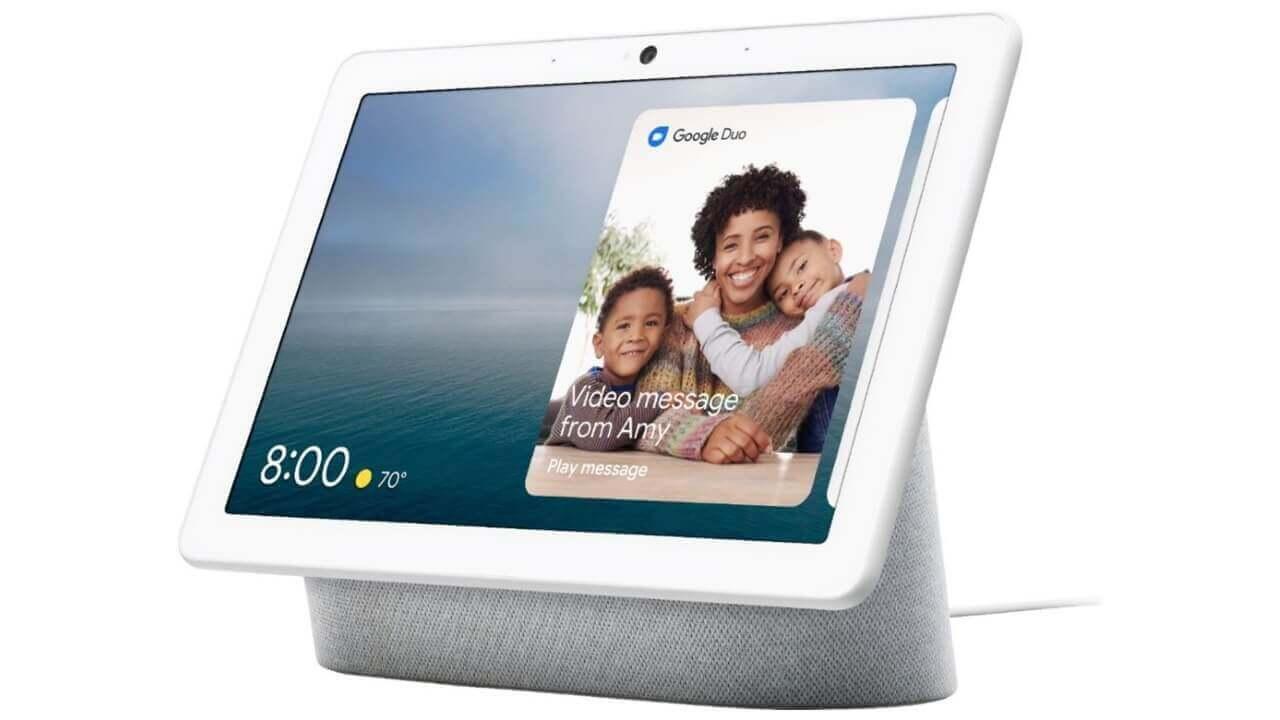 Googleストアで「Nest Hub Max」10%引きの初値下げ