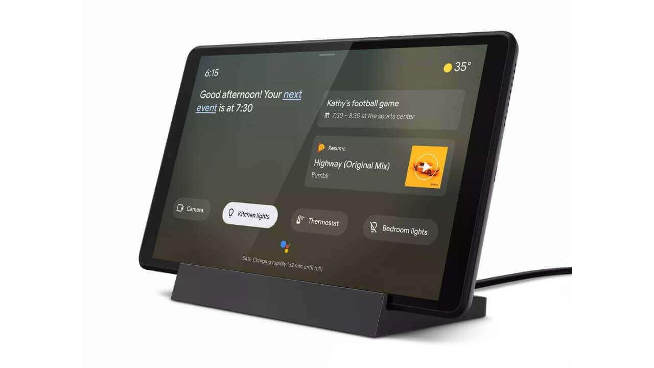 Lenovo、アンビエントモード対応「Smart Tab M8/Yoga Smart Tab」発表【IFA 2019】
