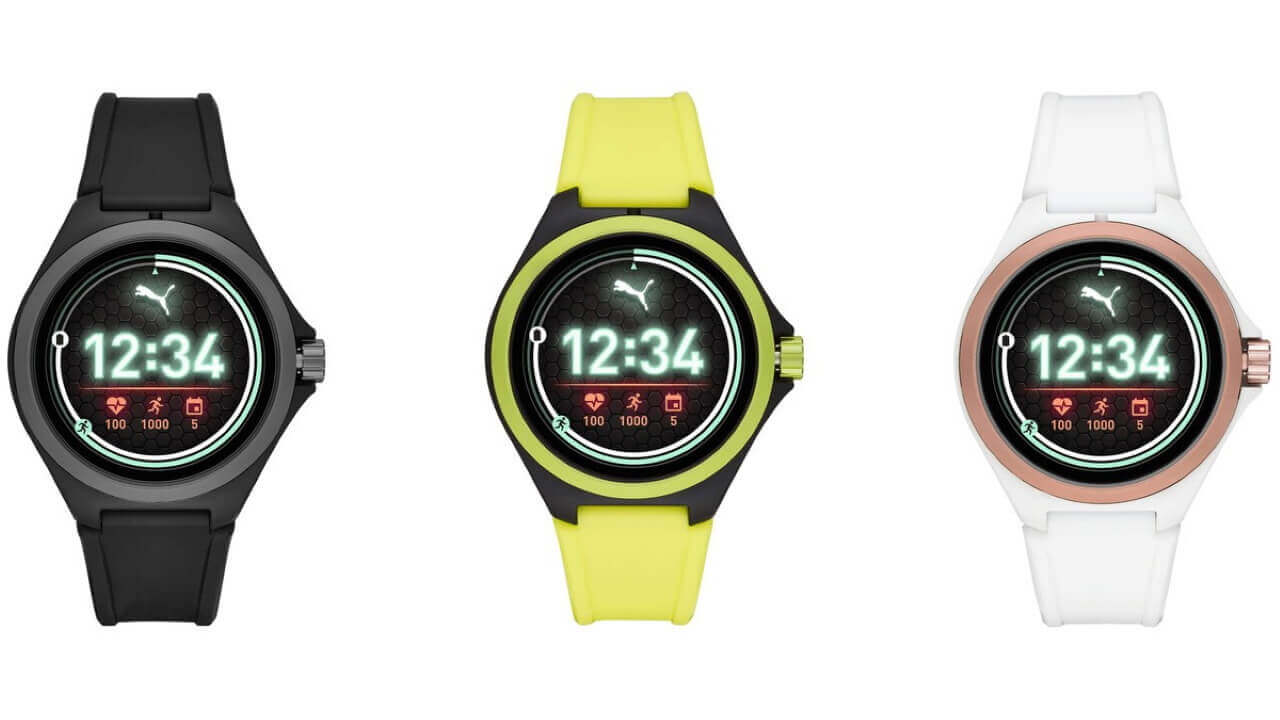 PUMA初のWear OSウォッチ発表、Wear 3100搭載で日本投入も予定