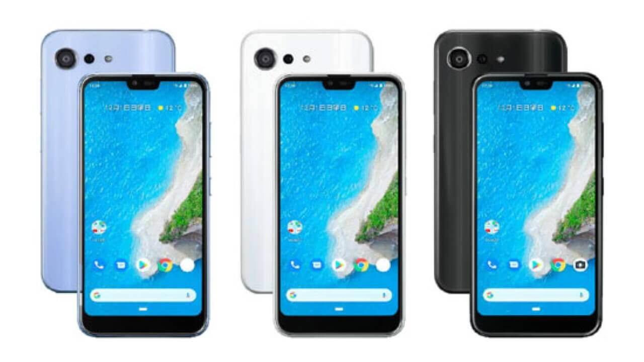 Android 10&おサイフケータイ対応「Android One S6」発表