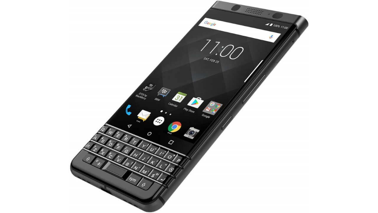 国内版「BlackBerry KEYone Black Edition」台数限定特価【ビックカメラ.com スペシャルセール】