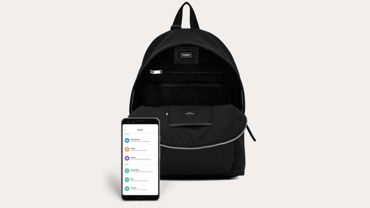 サンローランのJacquard「Cit-e Backpack」発売