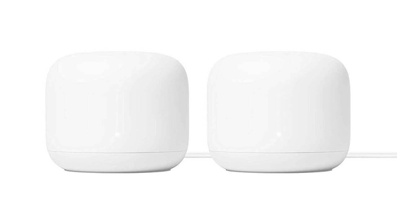 米Amazonで「Nest Wifi」2個パックがタイムセールの13%引き