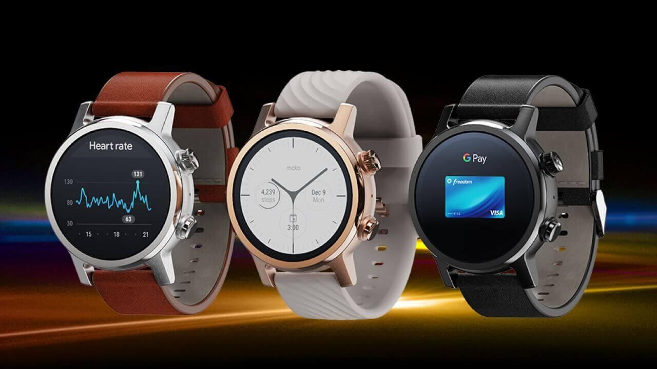 Motorola、第3世代Wear OS「Moto 360」電撃発表!