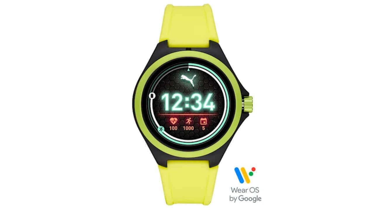 新型Wear OS「PUMA SmartWatch」ZOZOTOWNで発売