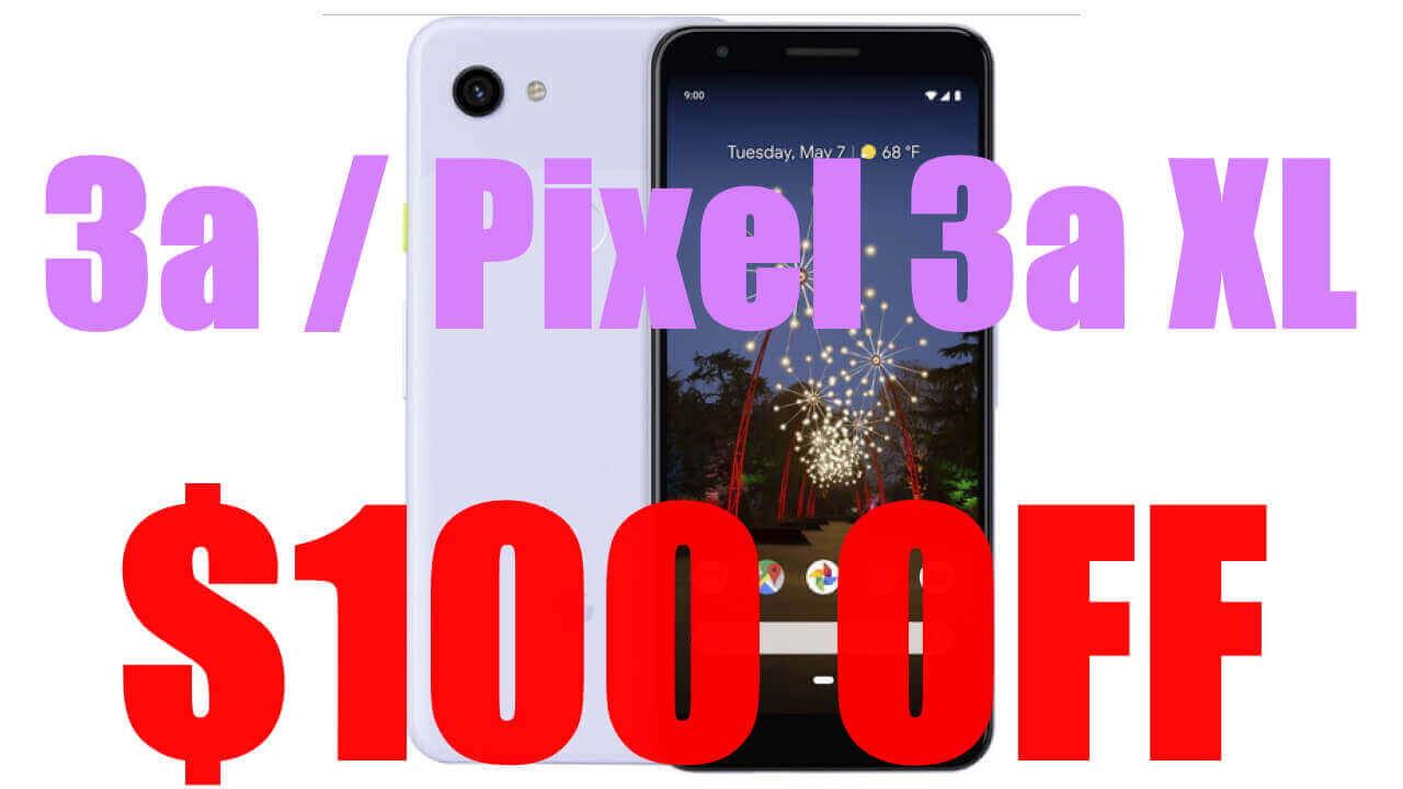 Best Buy、「Pixel 3a/3a XL」米国eSIMモデルを$100引き