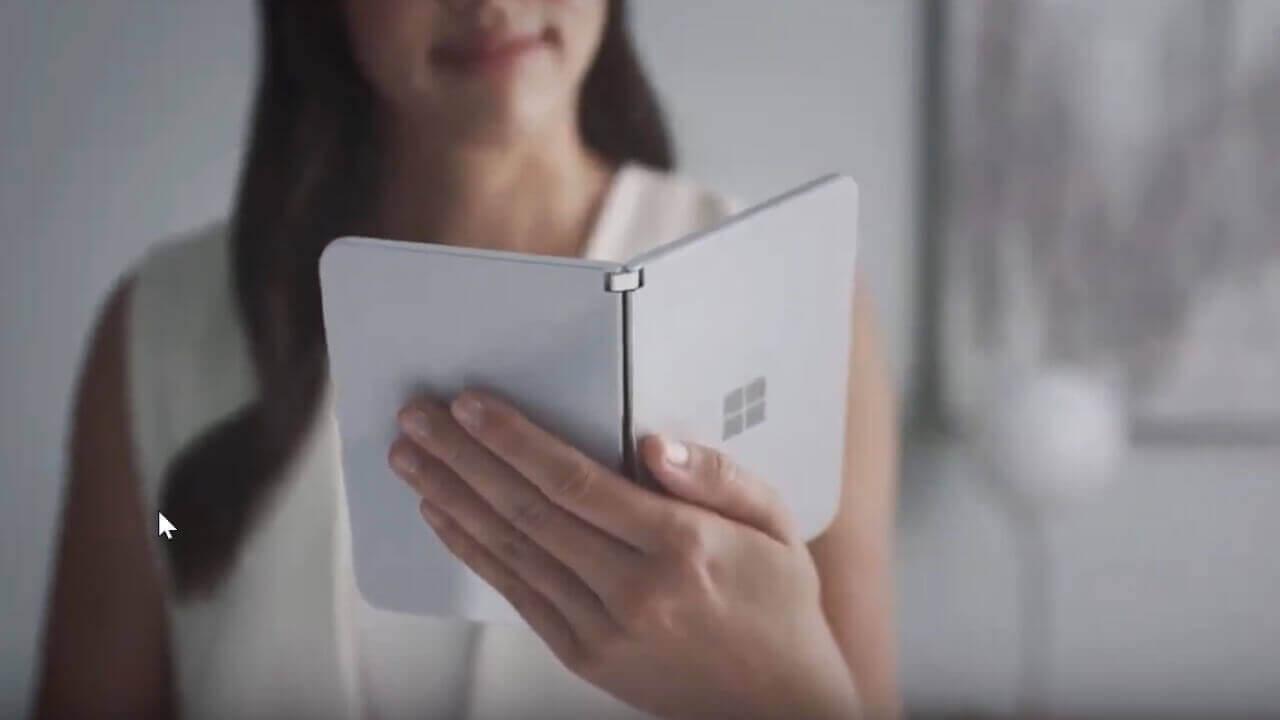 「Surface Duo」かもしれないデバイスがFCC認証取得