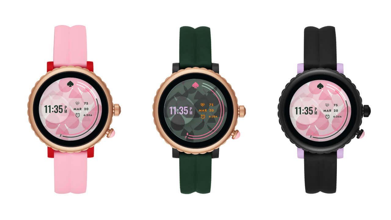 ケイト・スペード新型Wear OS「Sport Smartwatch」11月上旬発売