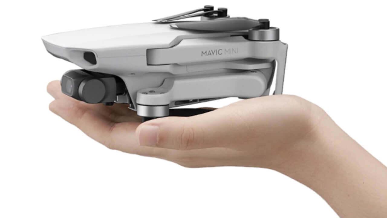 新型コンパクトドローン「DJI Mavic Mini」国内モデル発表
