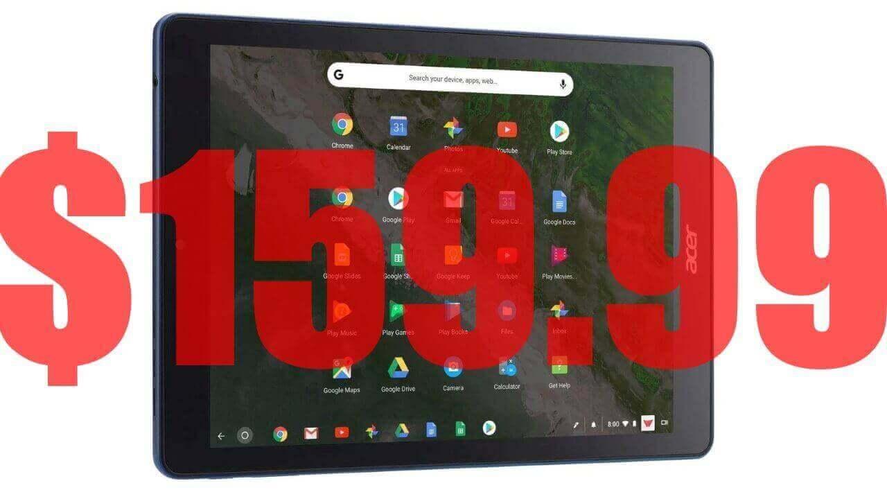 米Amazonで再生品「Chromebook Tab 10」が$159.99に