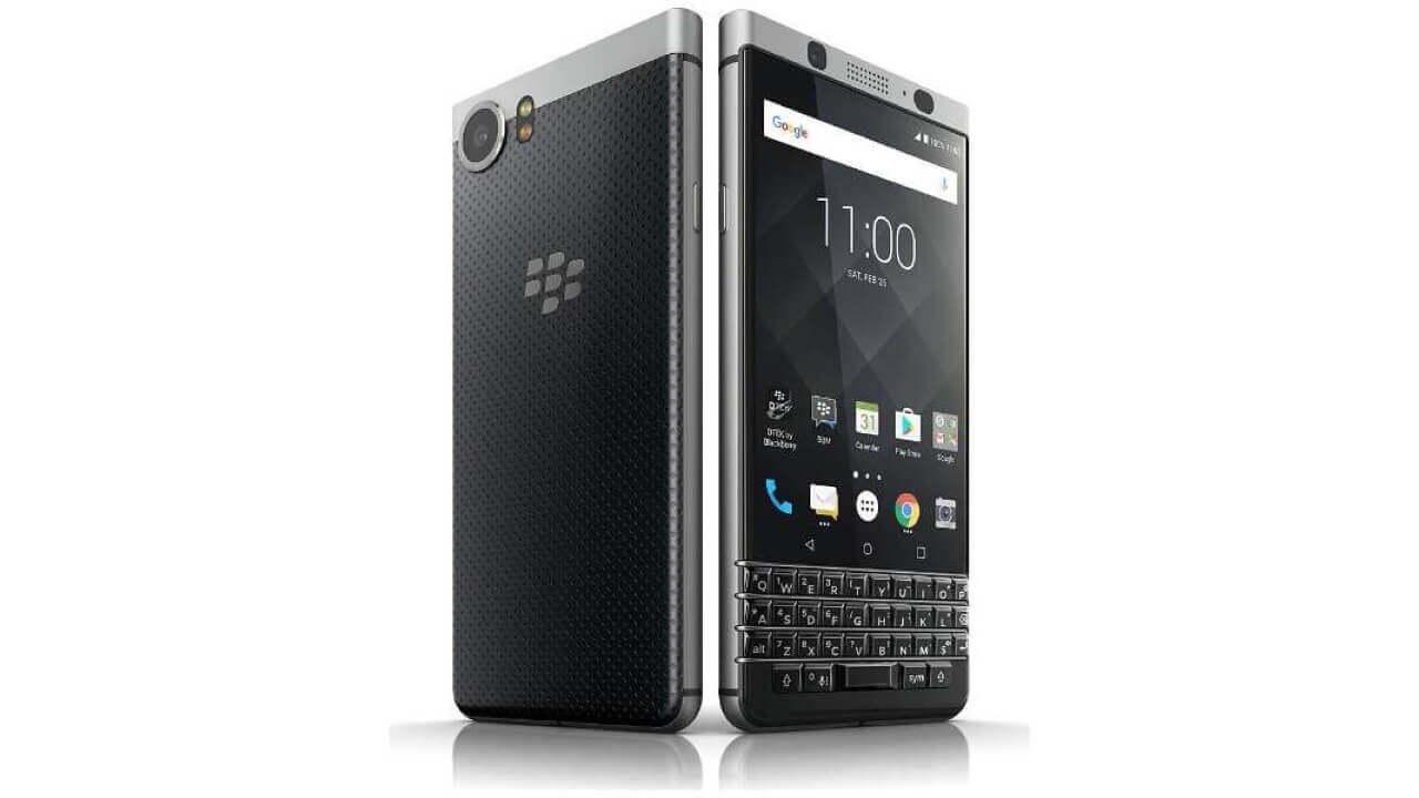 ビックカメラ、「BlackBerry KEYone」シルバーを特価で販売